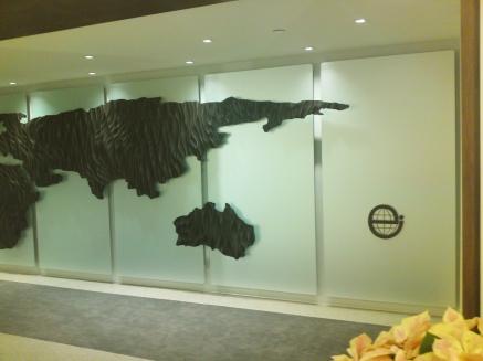 EI Entry Sculpture